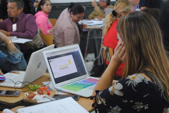 Taller online capacitaciones docentes Aptus